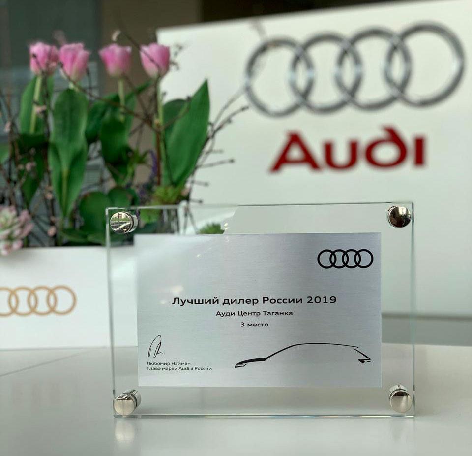 Ауди Центр Таганка получил награду