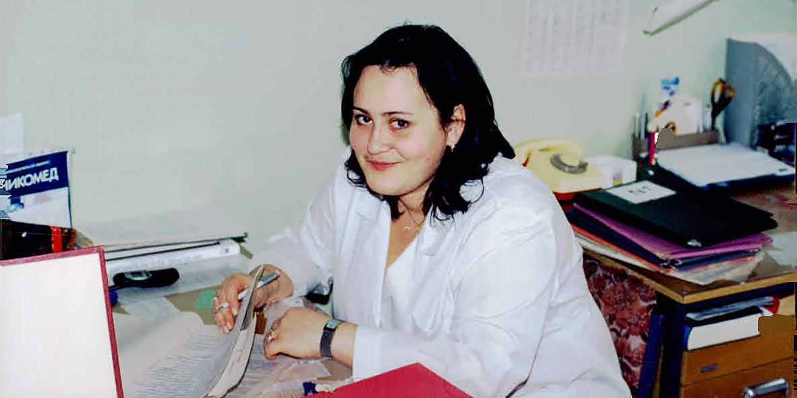 Наталья Агапова. Фото: архив семьи Лычковских