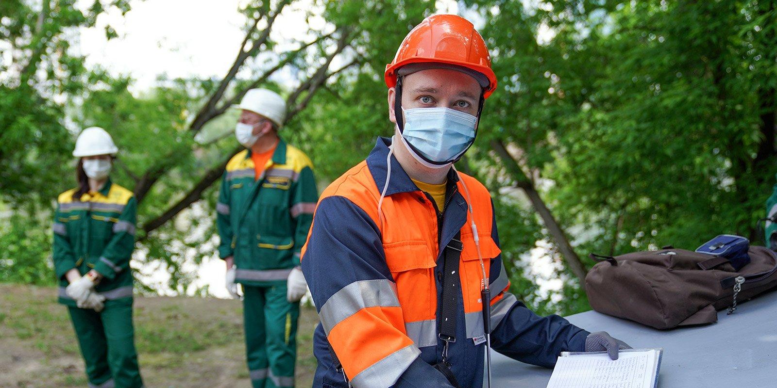 Михаил Савкин, техник по эксплуатации комплекса. Фото: mos.ru. Евгений Самарин