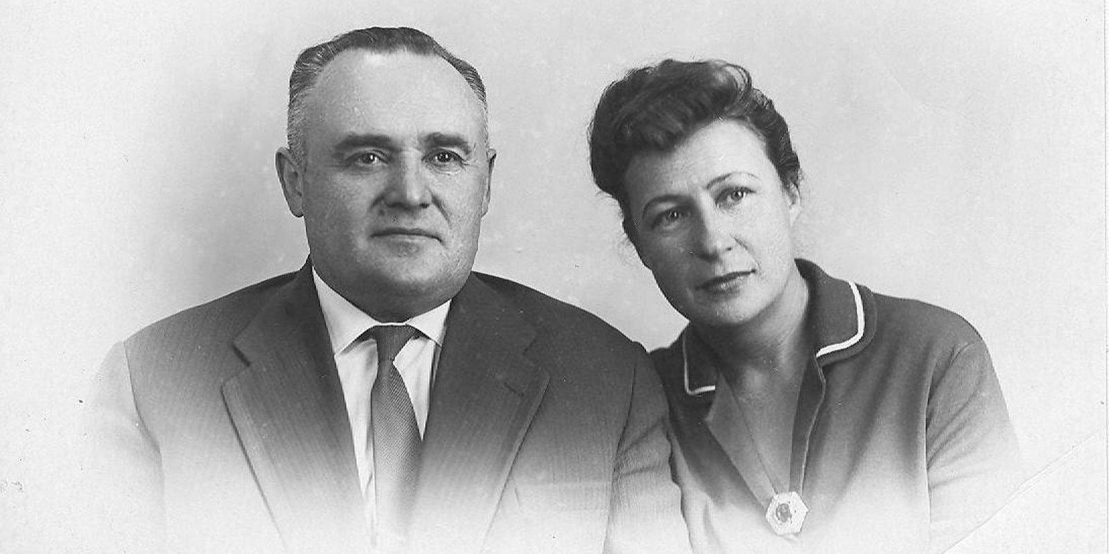Нина и Сергей Королевы. Фото: Музей космонавтики