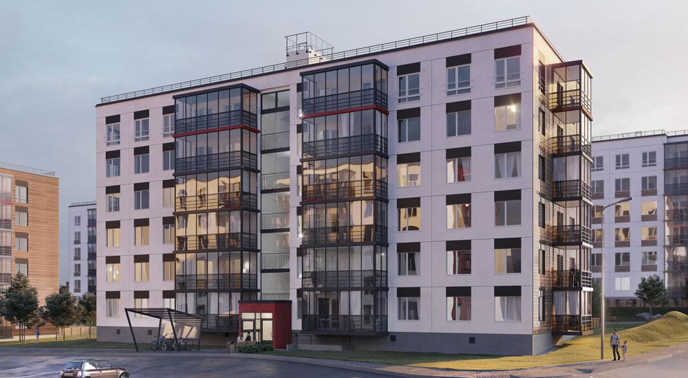 Bonava начала строительство девятой очереди ЖК Gröna Lund