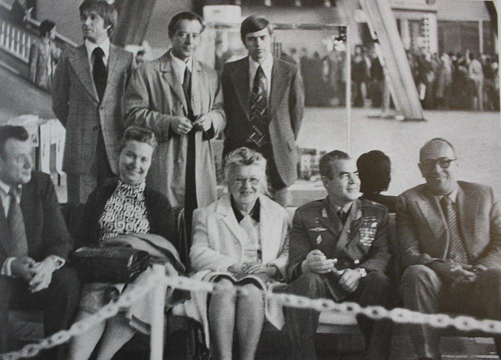 Советская делегация на сессии ИФЛА в Брюсселе. 1975 год. Главархив Москвы