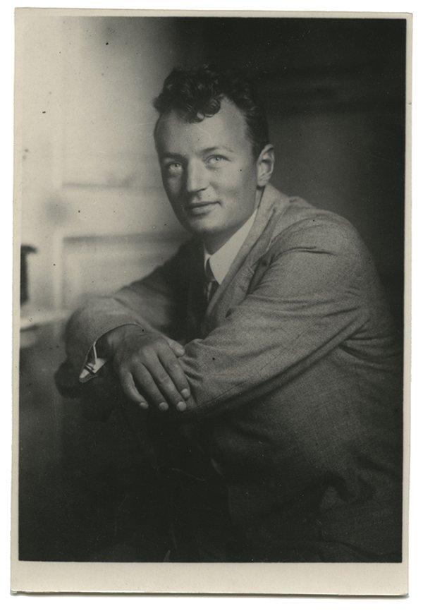 Александр Афиногенов. 1930 год. Государственный литературный музей