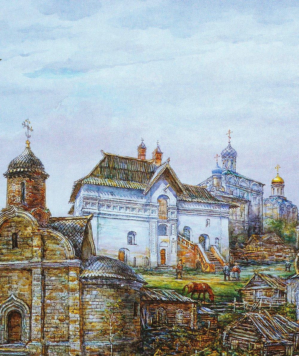 Палаты Старого Английского Двора. Реконструкция. Фото: Музей Москвы