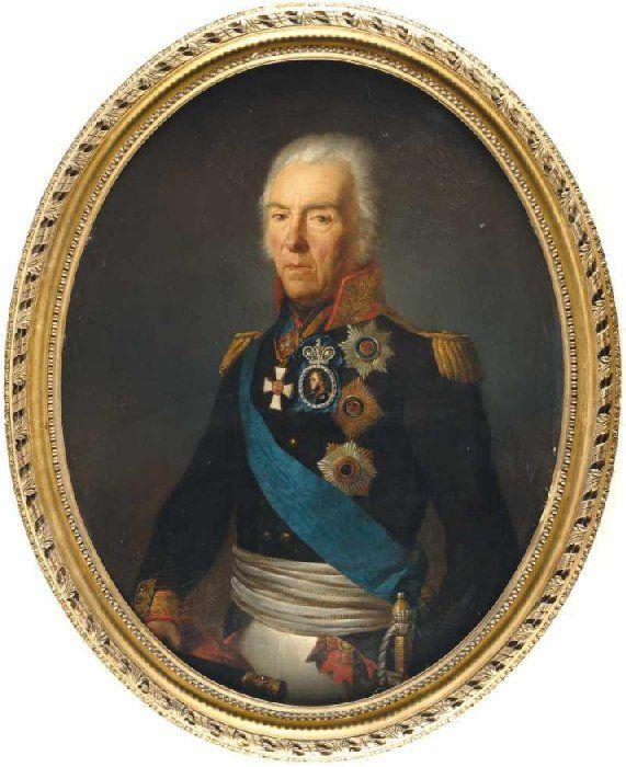 Портрет графа И.В. Гудовича. Первая половина XIX века. Частное собрание