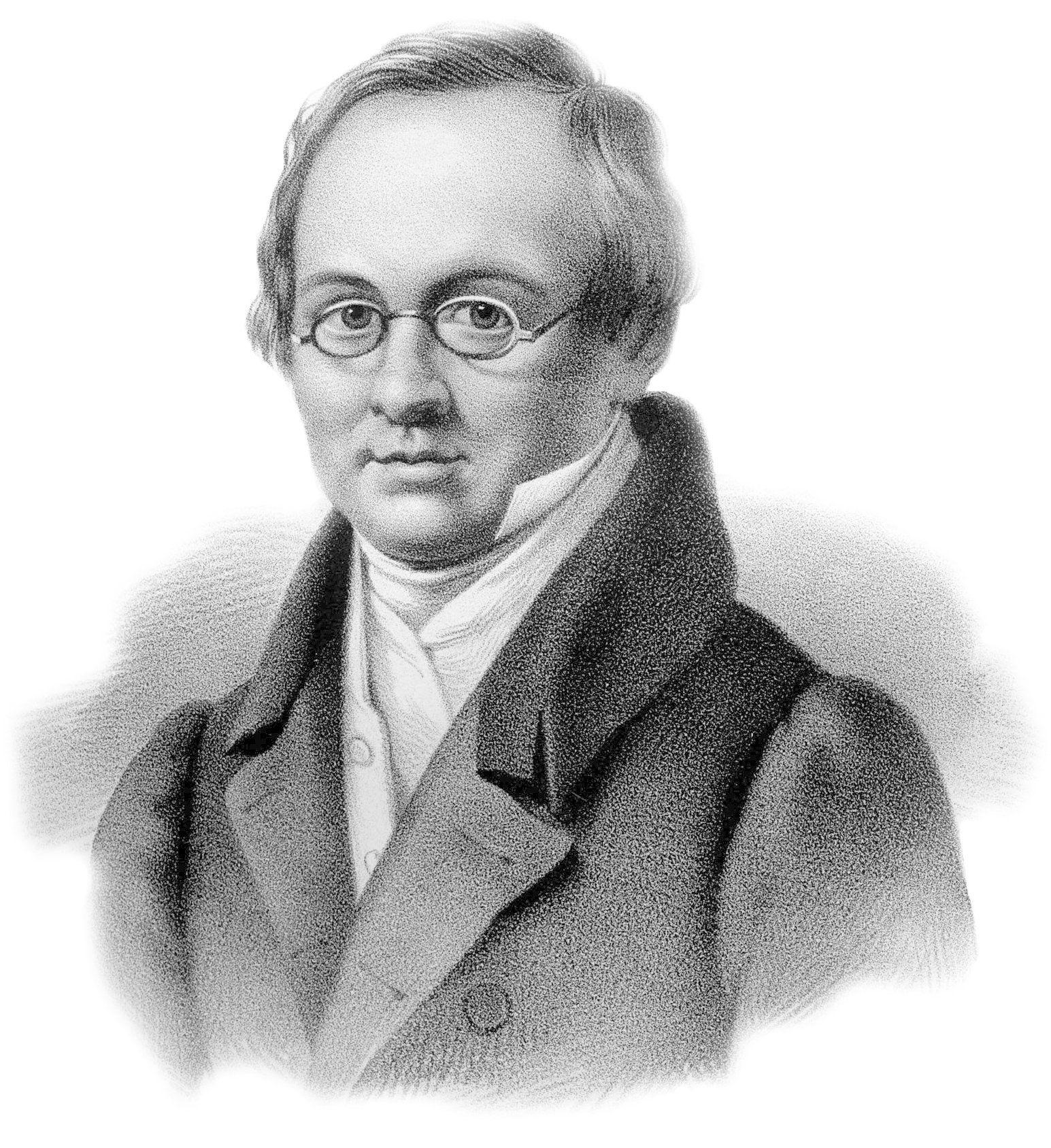 В. Лангер. Портрет А.А. Дельвига. 1830 год