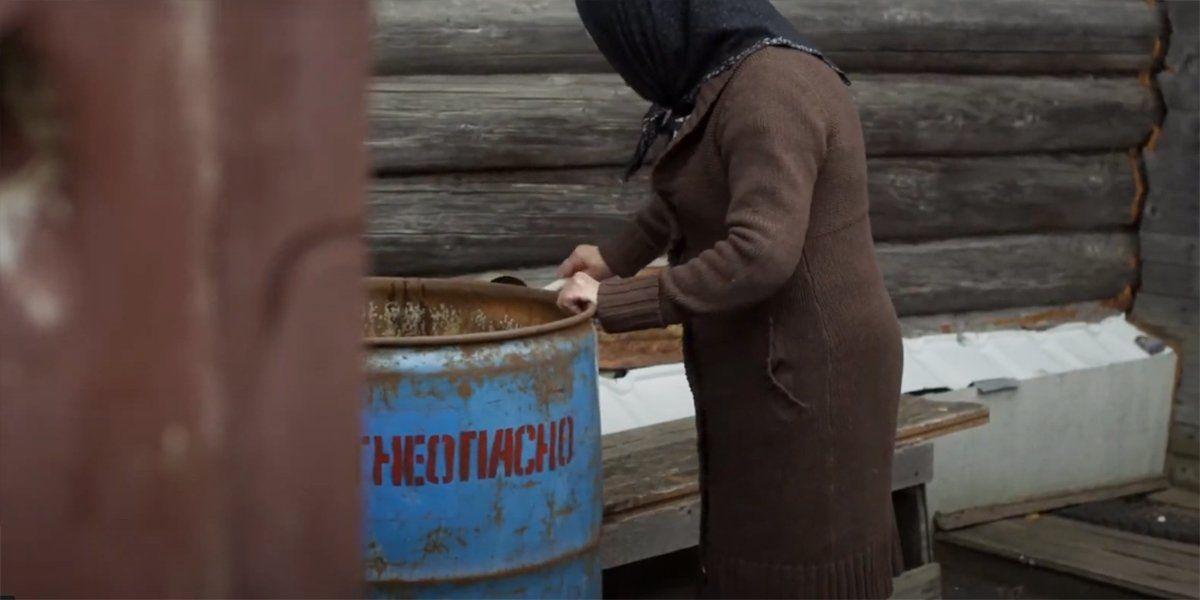 Кадр из фильма «Керосин». Режиссер Ю. Разыков. 2020 год