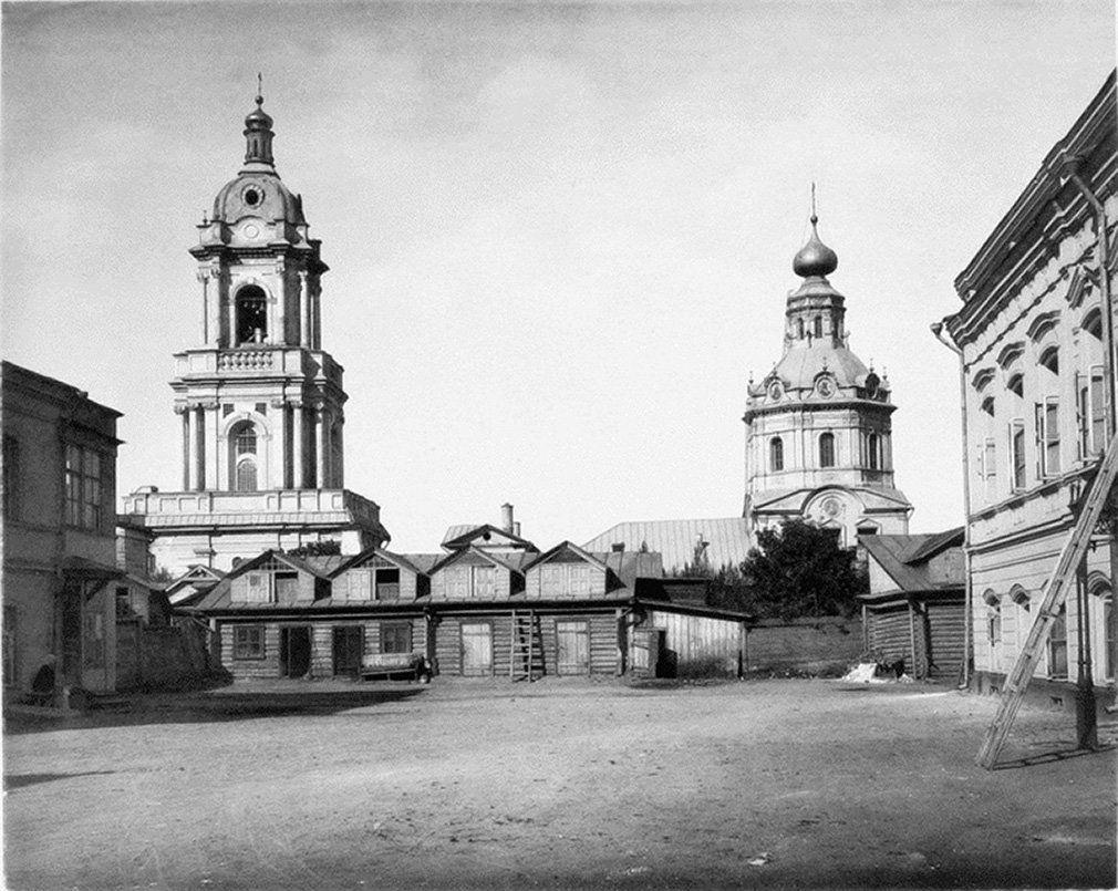 Храм Параскевы Пятницы на Пятницкой. Автор Н. Найденов. 1883 год