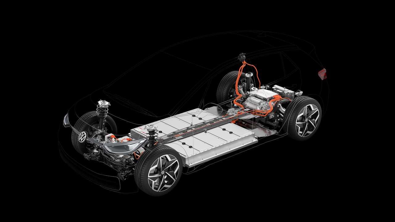 Volkswagen ID.4: Erste Bilder vom Cockpit des Elektro-SUVs ...