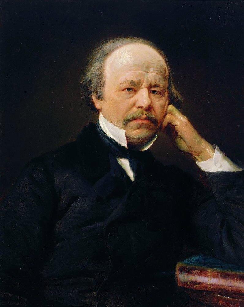 К. Маковский. Портрет А.С. Даргомыжского. 1869 год