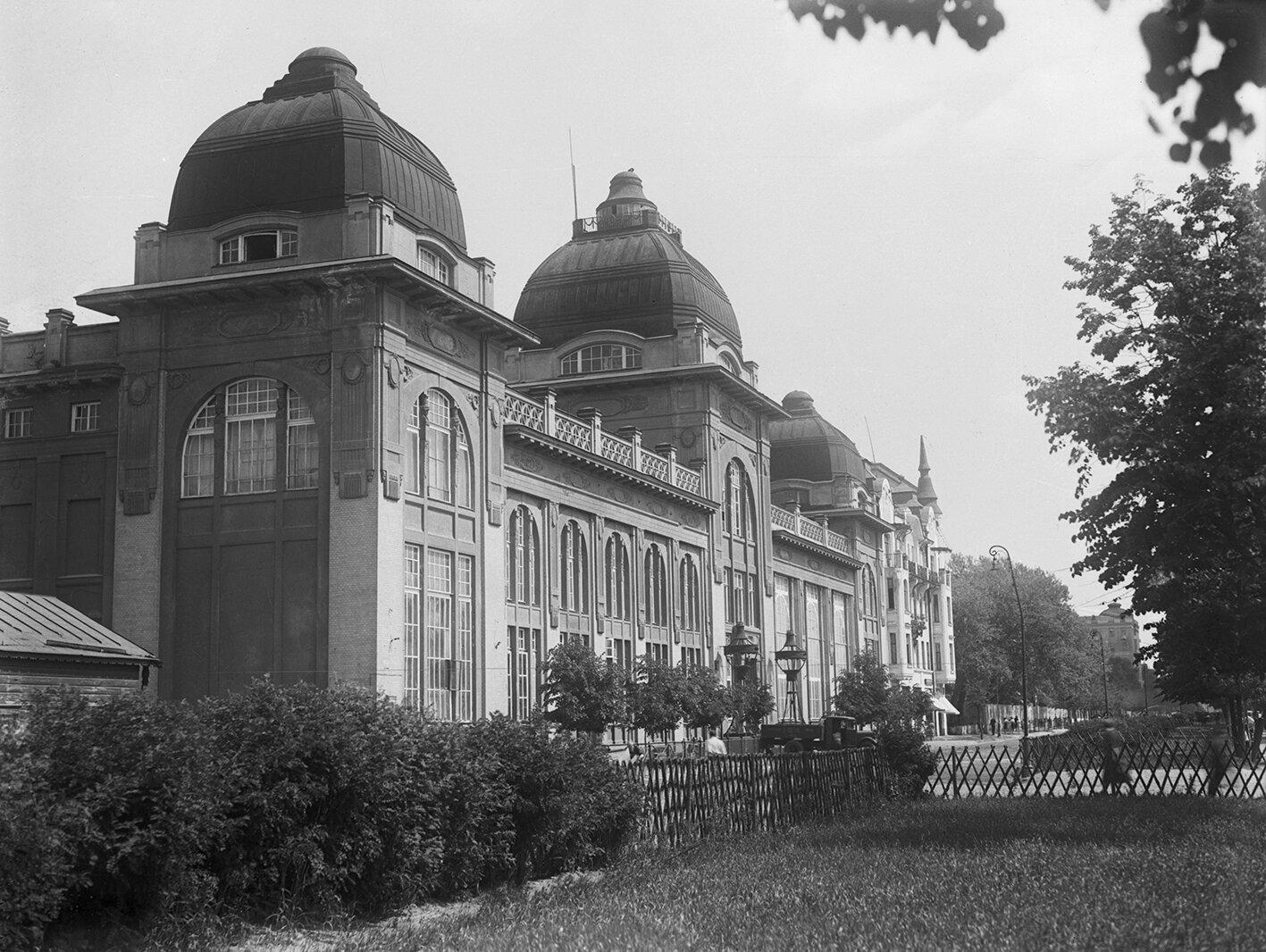 Здание бывшего ресторана «Яр» на Ленинградском шоссе. 1930-е годы. Главархив Москвы