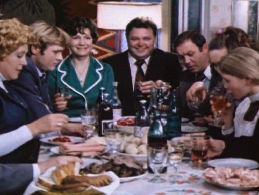 Кадр из фильма «Старый Новый год». Режиссеры Н. Ардашников, О. Ефремов. 1981 год