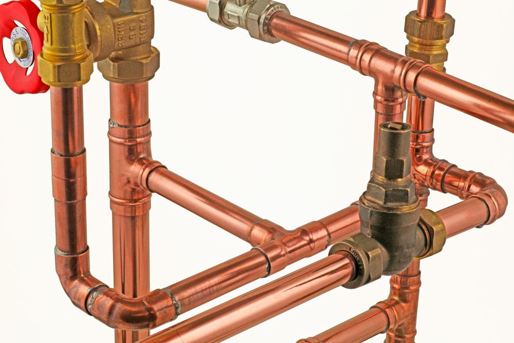 Использование медного водопровода