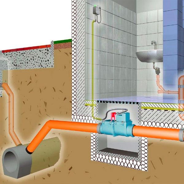 Напорная канализация