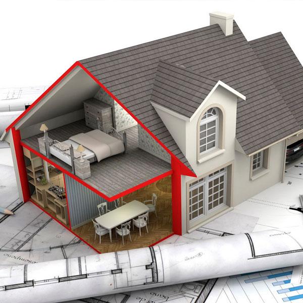 План строительство дома