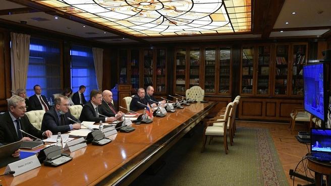 10-е заседание Межправительственной смешанной Российско-Испанской комиссии по экономическому и промышленному сотрудничеству