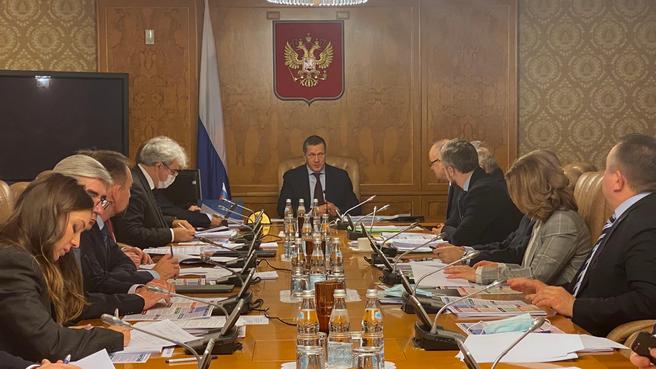 Заседание оргкомитета по подготовке и обеспечению председательства России в Арктическом совете в 2021–2023 годах