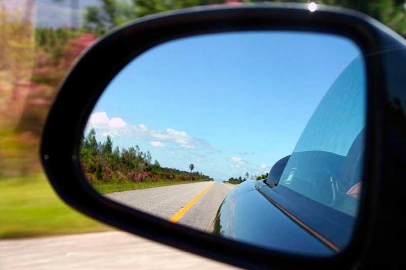 Зеркала-ждя автомобиля