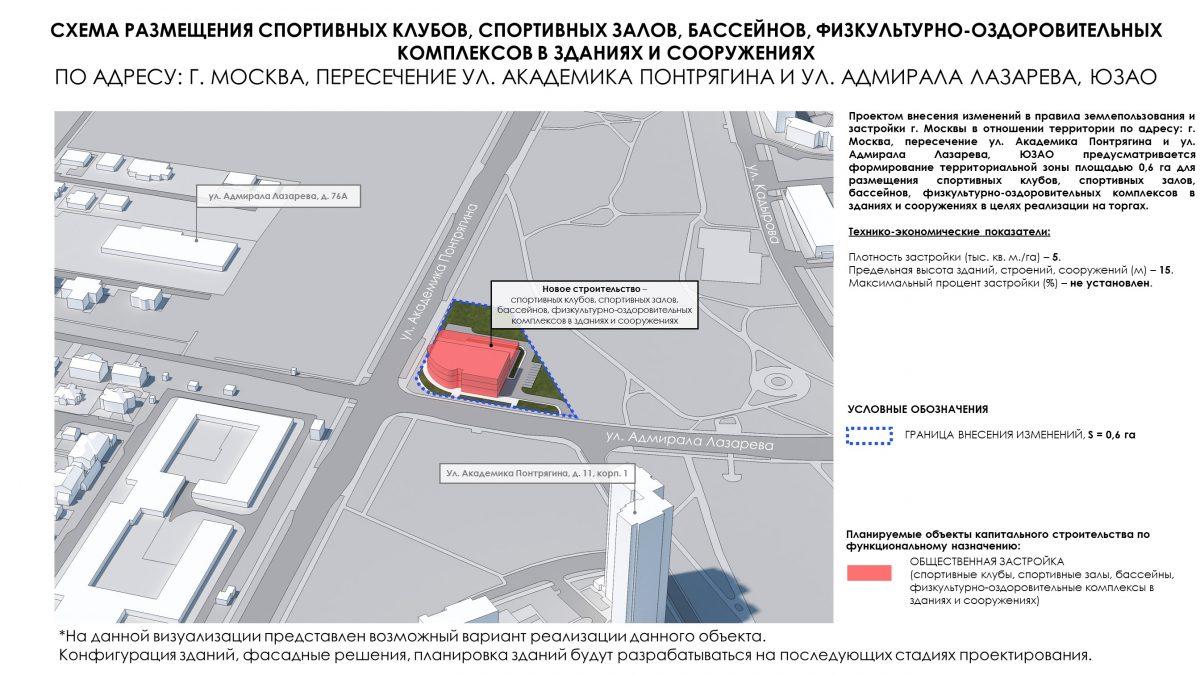 Три участка для реализации объектов жилого, спортивного и производственного назначения будут выставлены на торги