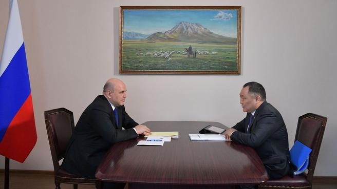 Беседа с Главой Республики Тыва Шолбаном Кара-оолом