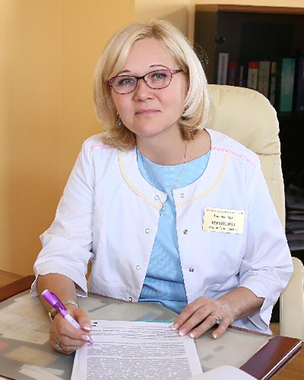 Лилия Вершинина, главный врач городской поликлиники № 22