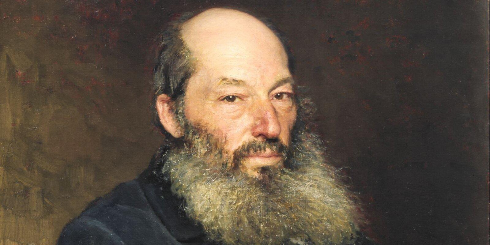 И. Репин. Портрет поэта А.А. Фета. 1882 год