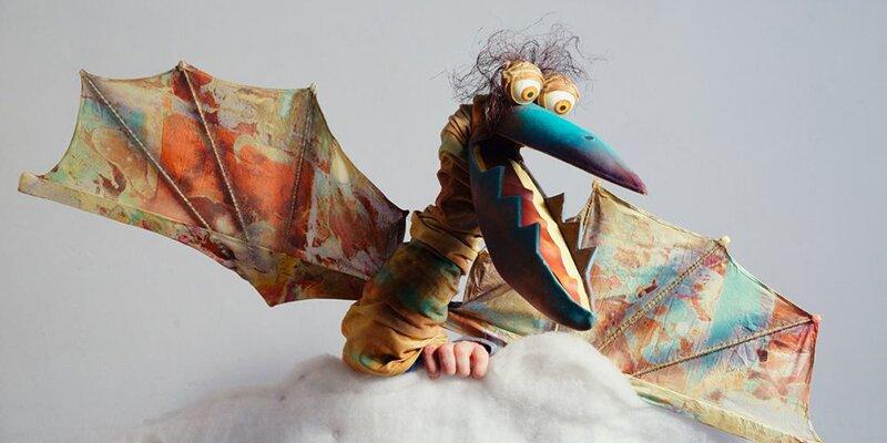 Спектакль «Динозавр по имени Игу». Театр «Привет!»