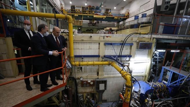 Посещение института ядерной физики имени Г.И.Будкера Сибирского отделения РАН