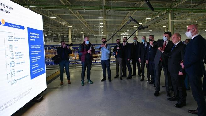 Посещение Новосибирского логистического почтового центра