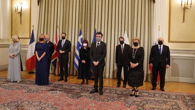 Официальный обед от имени Президента Греции Катерины Сакелларопулу