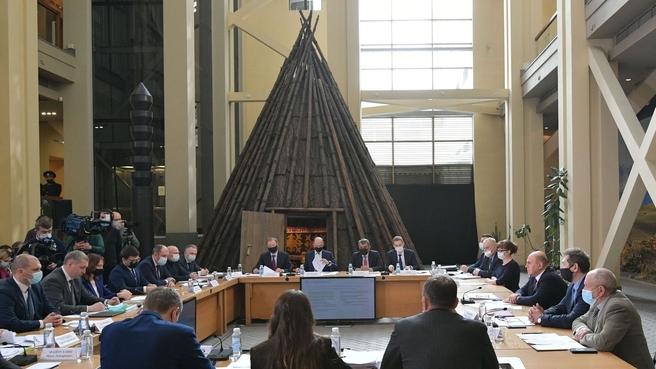 Встреча с представителями туристического бизнеса по вопросу развития туризма в Республике Алтай и Алтайском крае