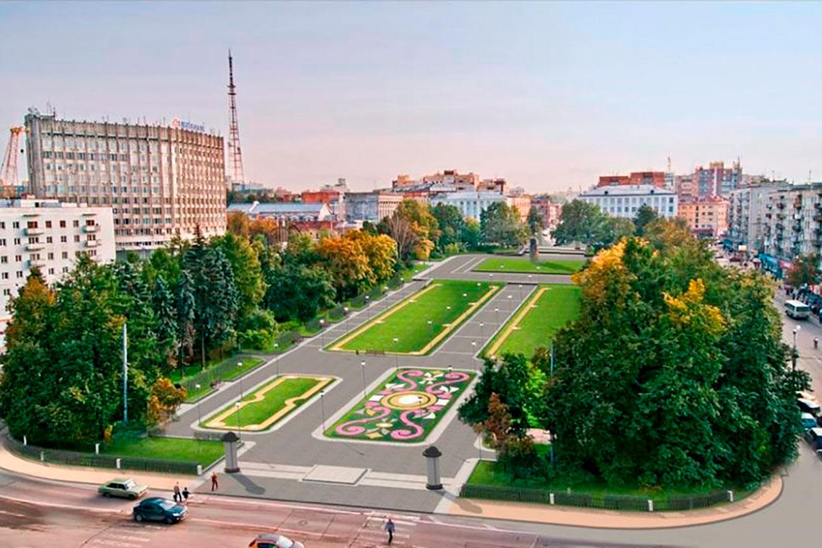 Благоустройство-площади-Горького