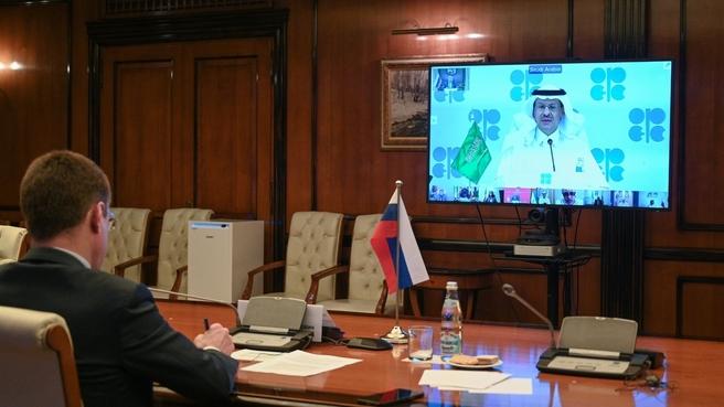 Александр Новак принял участие в 15-й министерской встрече стран ОПЕК и не-ОПЕК