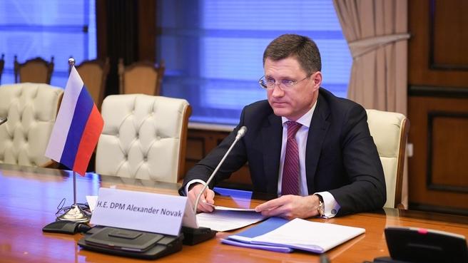 Александр Новак принял участие в 16-й министерской встрече стран ОПЕК и не-ОПЕК