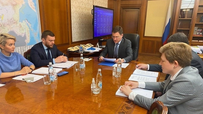 Заседание оргкомитета по подготовке празднования 300-летия образования Кузбасса