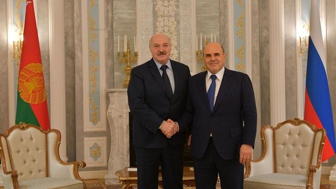 С Президентом Республики Беларусь Александром Лукашенко