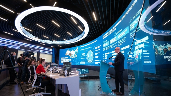 Дмитрий Чернышенко представляет новый национальный проект «Туризм и индустрия гостеприимства»