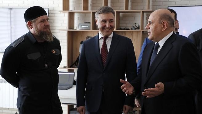 Посещение Грозненского государственного нефтяного технического университета