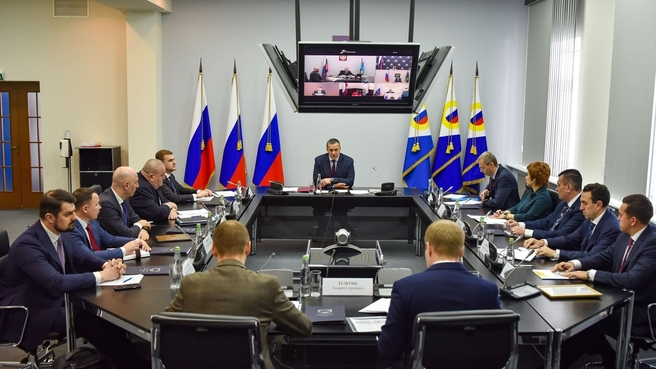 Юрий Трутнев на совещании о ходе реализации инвестиционного проекта по освоению Баимской рудной зоны