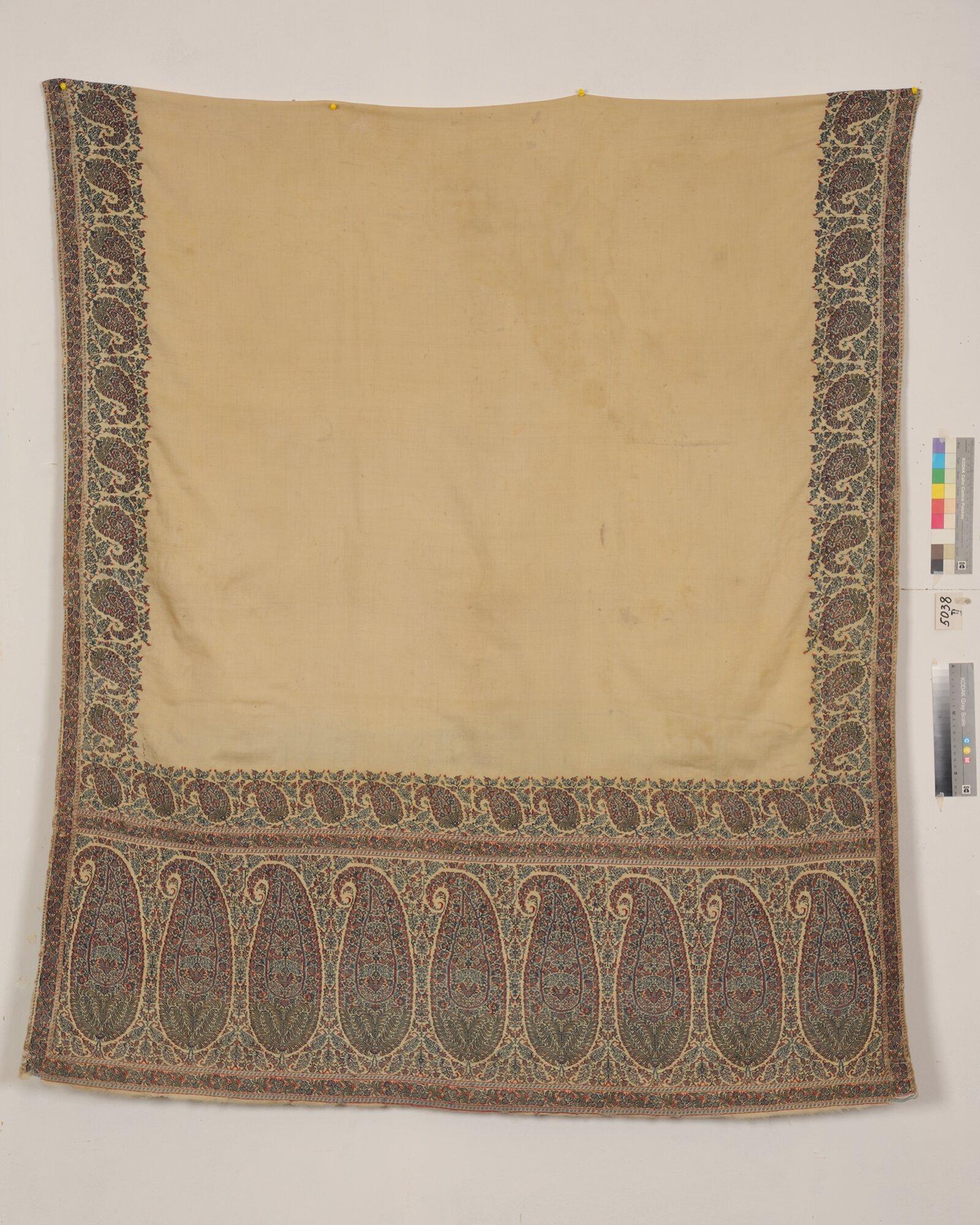 Шаль. Индия, Кашмир. 1820–1830-е годы