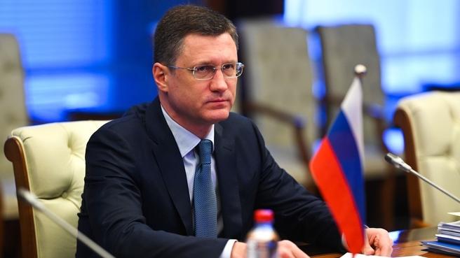 Александр Новак на встрече с федеральным Министром экономики и энергетики ФРГ Петером Альтмайером