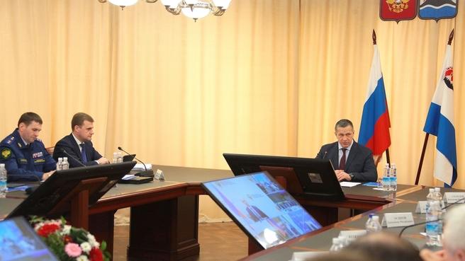 Юрий Трутнев провёл в Петропавловске-Камчатском заседание совета Дальневосточного федерального округа