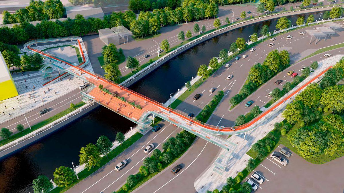 пешеходный-мост-через-реку-Яузу-появится-в-центре-Мросквы