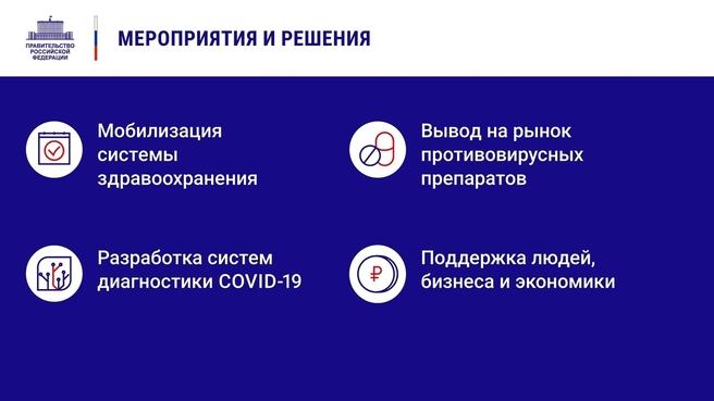 К отчёту о деятельности Правительства России за 2020 год. Слайд 3