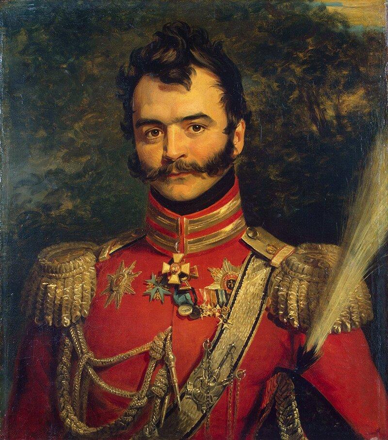 Мастерская Д. Доу. Портрет В. Орлова-Денисова. 1820-1825 годы