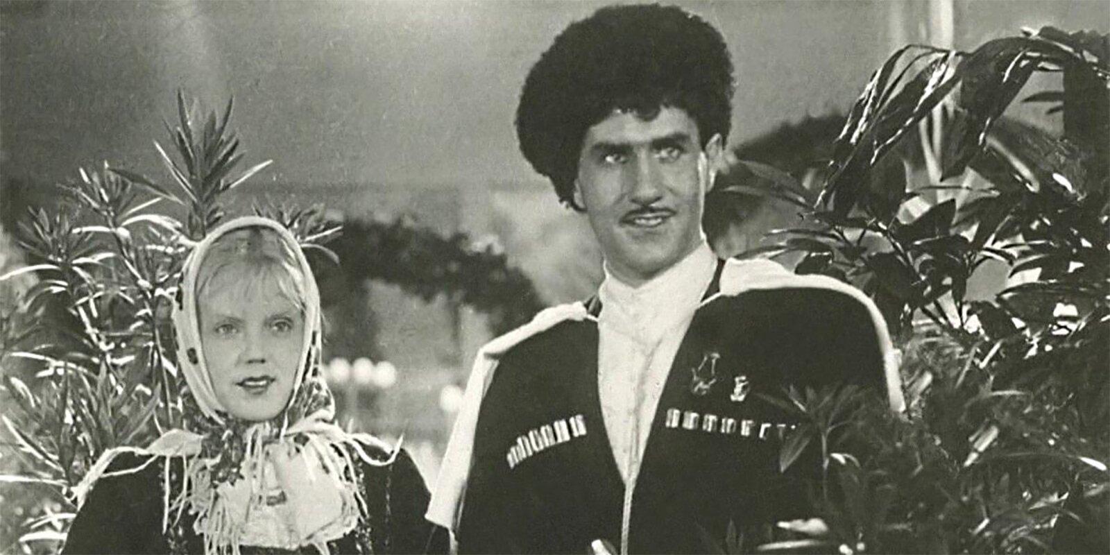 Кадр из фильма «Свинарка и пастух». Режиссер И. Пырьев. 1941 год