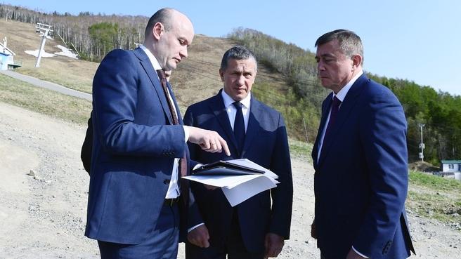 Рабочая поездка Юрия Трутнева в Сахалинскую область