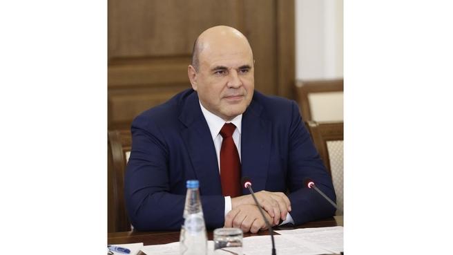 Михаил Мишустин на встрече с Премьер-министром Республики Беларусь Романом Головченко