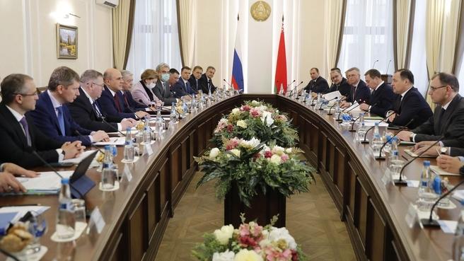 Встреча с Премьер-министром Республики Беларусь Романом Головченко
