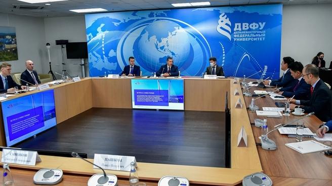 Встреча Юрия Трутнева с инвесторами Приморского края